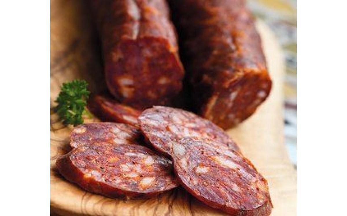 Przepis na 5kg kiełbasy Chorizo w stylu hiszpańskim.