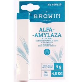Alfa amylaza - enzym 4g BROWIN