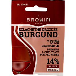 Szlachetne Drożdże do wina 20ml - Burgund