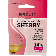 Szlachetne Drożdże do wina 20ml - Sherry