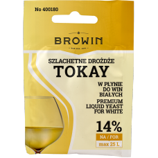 Szlachetne Drożdże do wina 20ml - Tokay