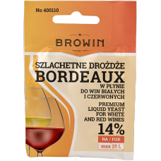 Szlachetne Drożdże do wina 20ml - Bordeaux