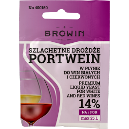 Szlachetne Drożdże do wina 20ml - Portwein