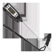 Termometr elektroniczny do +300°C - Czarny