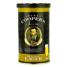 Coopers Brew Kit - Heritage Lager + Yeast